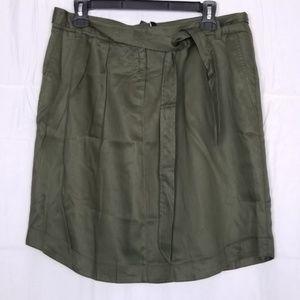 Jones New York Camo Green Skirt Size 10